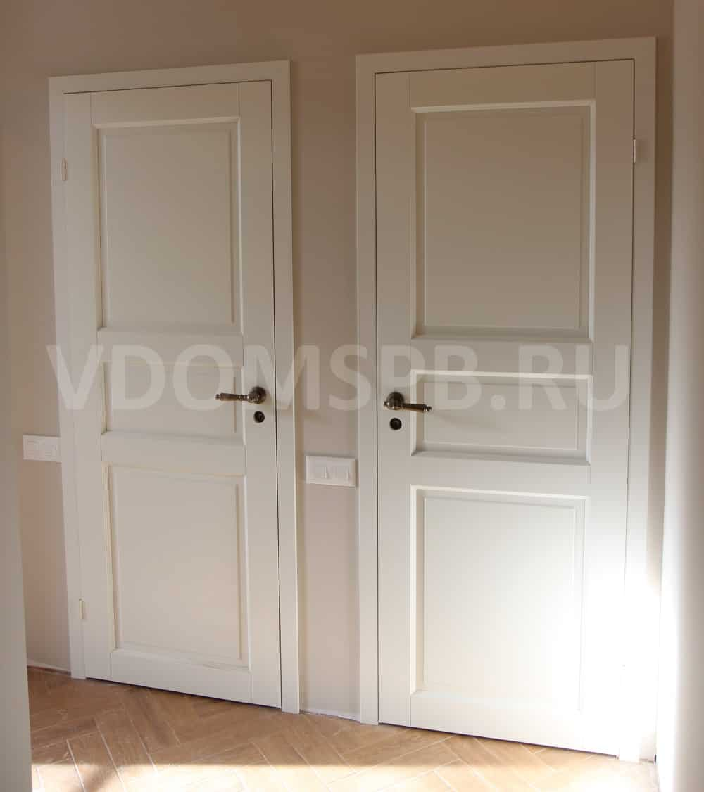 Белые финские двери