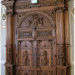 Элитные резные двери