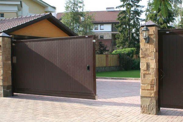 металлические двери ворота решетки
