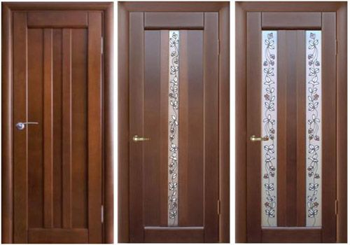 Деревянные двери – сертификат