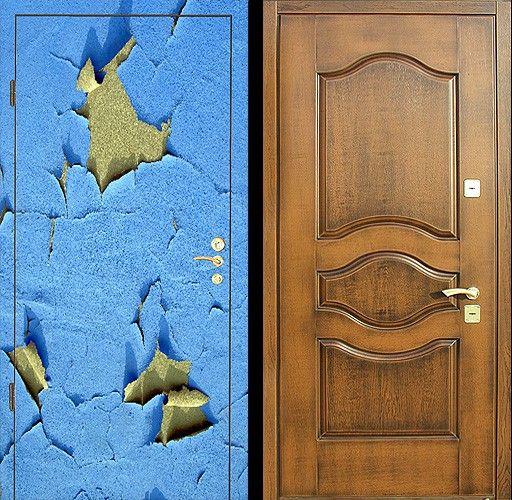 Двери металлические: ремонт