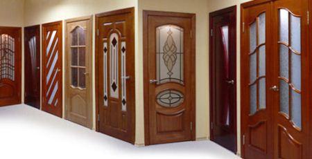 Межкомнатная дверь шпонированная