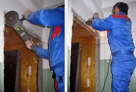 Как демонтировать старую межкомнатную дверь