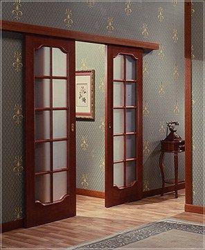 Откатные межкомнатные двери