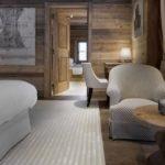 Альпийское кантри – дверь с двумя филёнками