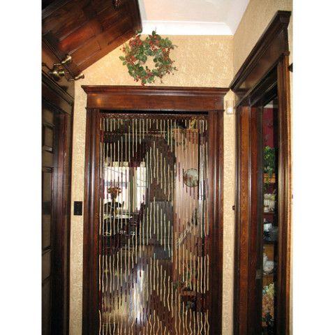 Бамбуковые занавески на дверной проем