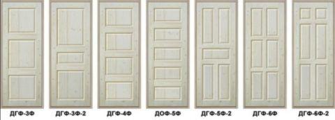 Блоки дверные с глухим полотном сосна выпускаются в огромном ассортименте