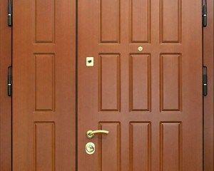 Применение МДФ в отделке двери