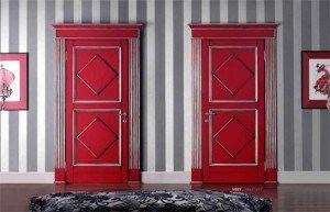 Красные цвет для интерьера помещения