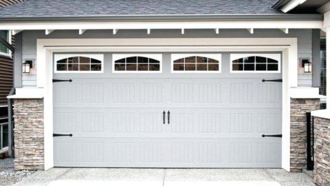 Декор гаражных ворот