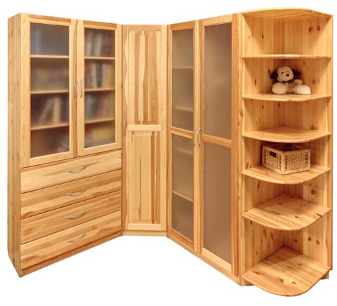 Деревянные шкафы наиболее дорогие
