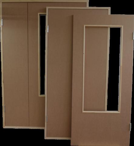 Дешевые двери из древесно-волокнистых плит