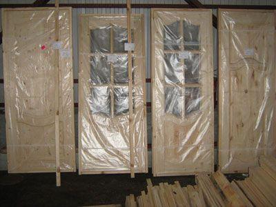 двери деревянные сертификат