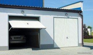 Двери гаражные подъемные