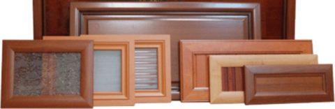Двери на антресоль с разным заполнением