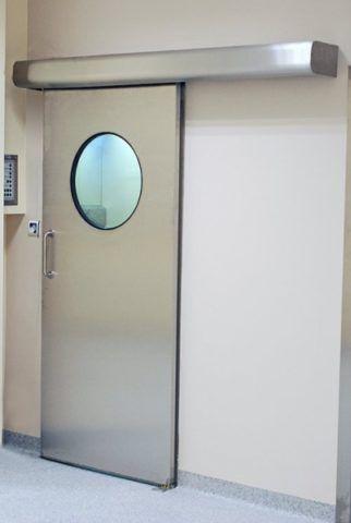 Двери сдвижные стальные