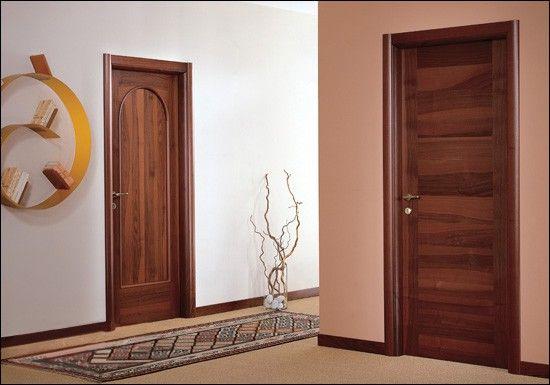 Что такое двери шпонированные
