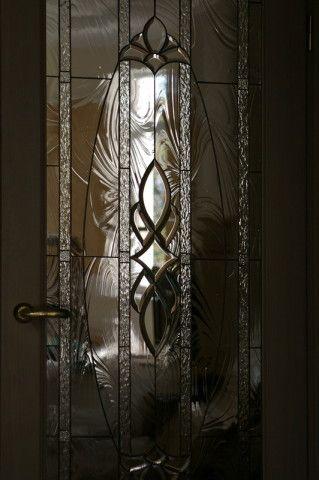 Двери со стеклом Тиффани