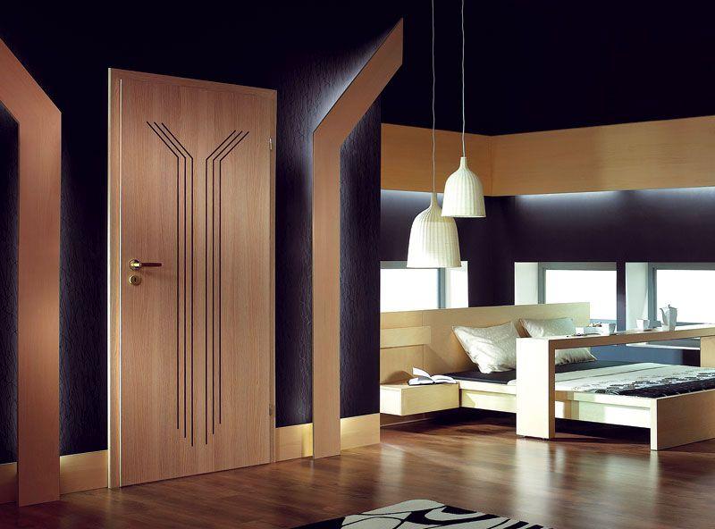 Дверная накладка с оригинальной фрезеровкой