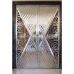 Дверное полотно из нержавеющей стали