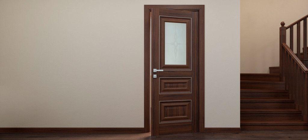 Дверное полотно с визуально выделенными калёвками