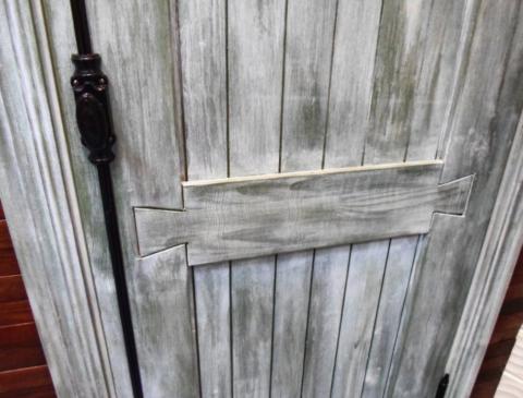 Дверное полотно в стиле прованс