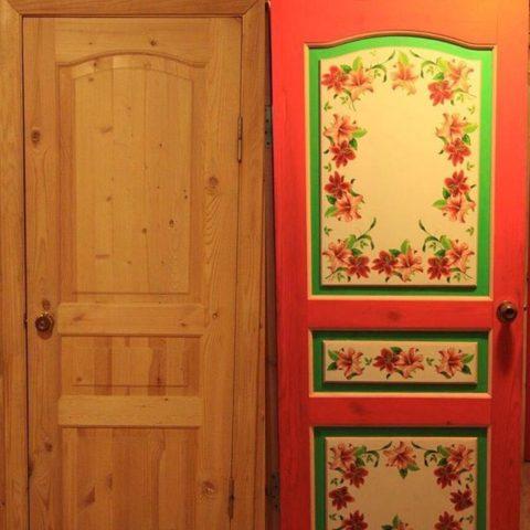 Эту дверь трудно узнать