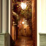 Фотообои на дверном полотне