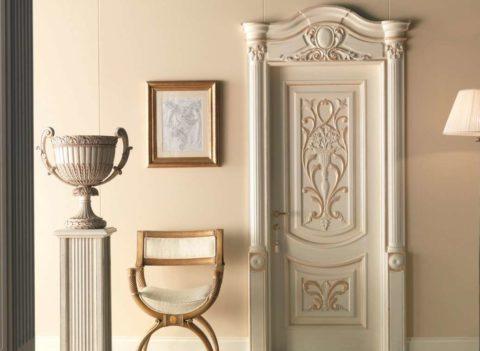 Фурнитура должна соответствовать дизайну дверного полотна