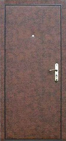 Гладкая винилискожа на дверях