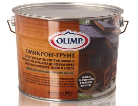 Грунт для обработки деревянных поверхностей перед покраской