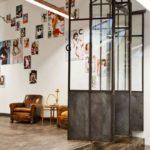 Индустриальный дизайн декоративных дверей-перегородок
