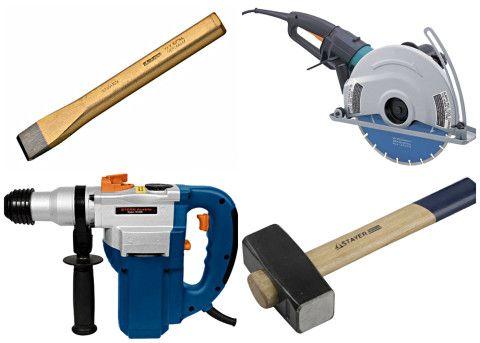 Инструменты для вырубки отверстия