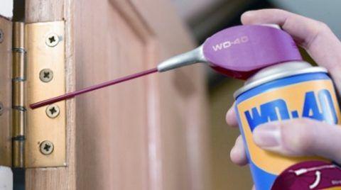 Избавиться от скрипа дверей можно несколькими способами