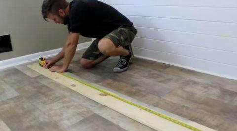 Измерение длин досок