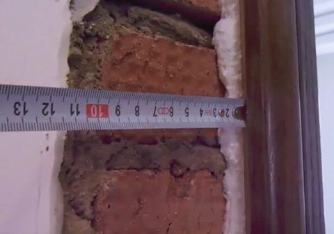 Измеряйте глубину проема
