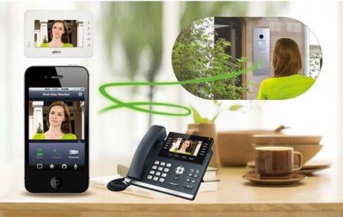 Изображение с видеоглазка домофона может передаваться на любое устройство