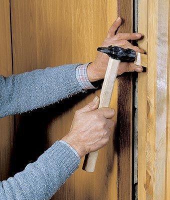 как самому поставить межкомнатную дверь