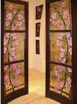 как старые межкомнатные двери обновить