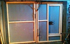 Пример изготовления окантовки при помощи деревянного бруса