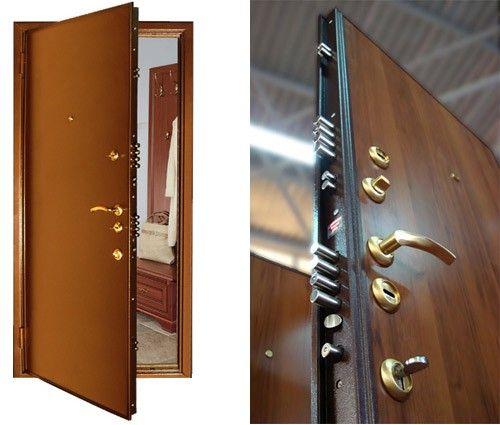 как выбрать дверь стальную