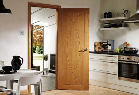 Классическая дверь с распашным открыванием