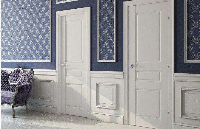 Классические двери в интерьере