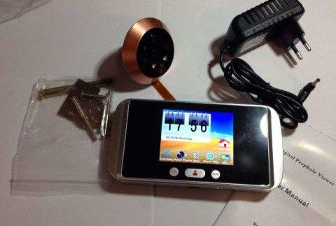 Комплектность дверного глазка с видеокамерой