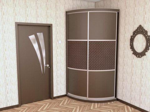 Корпусный шкаф можно переносить, так как он имеет свои стенки