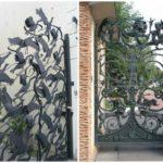 Кованые калитки – настоящие произведения искусства