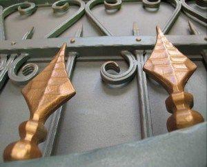 кованые ворота чертежи
