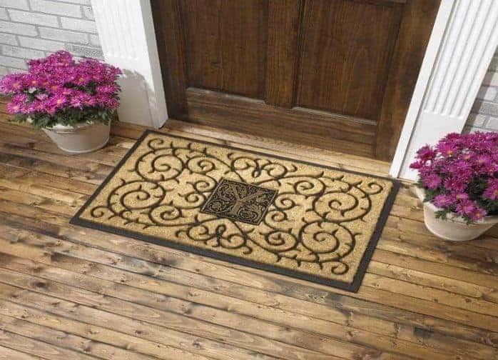 Ваша домашняя визитка - коврик перед дверью