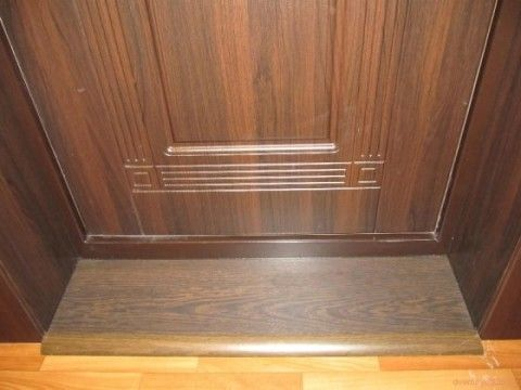 Красивое изготовление дверных откосов