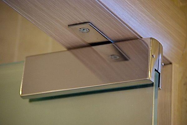 Маятниковая петля для стеклянной двери